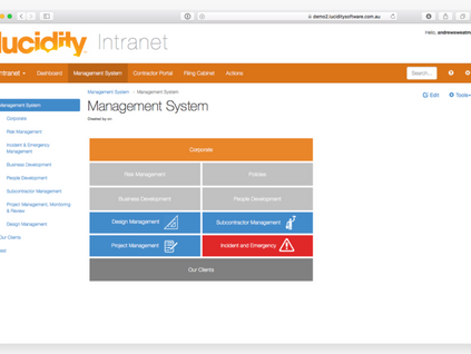 Adopt a powerful document management system with Lucidity Intranet