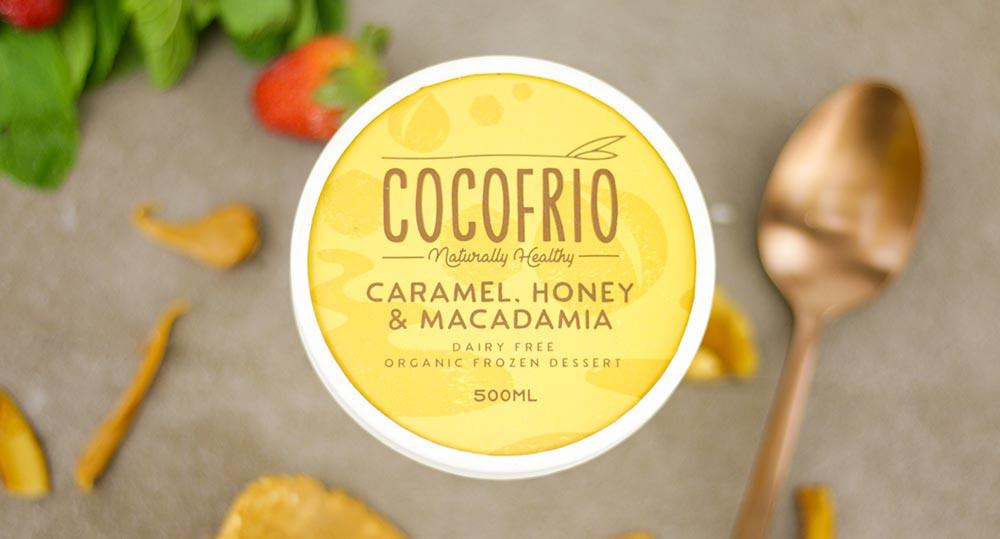Cocofrio Caramel Honey & Macadamia