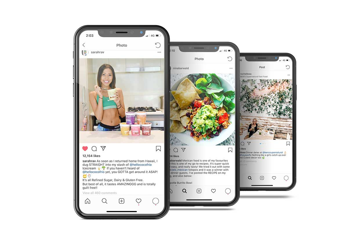 Social media influencer campaigns by Melbourne digital marketing agency Haines Media