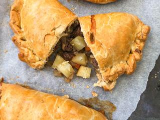 Chestnut and Squash veggie pastries