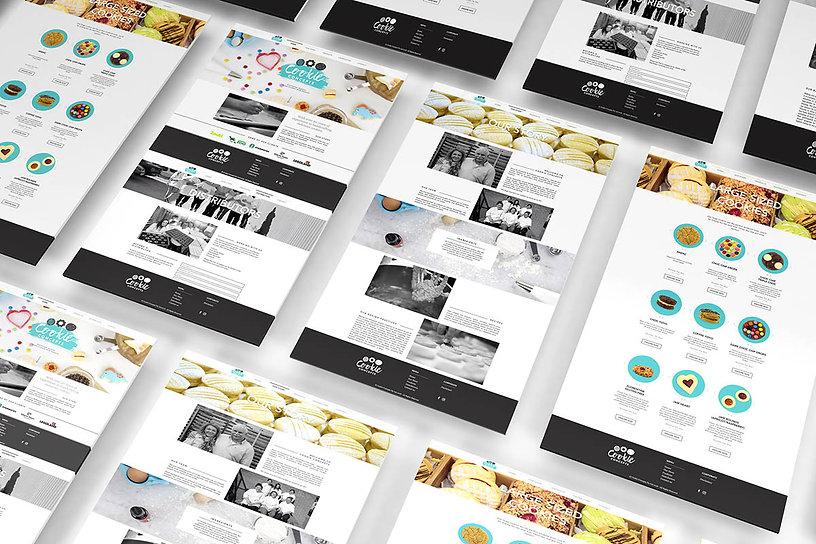 Cookie Concept Website