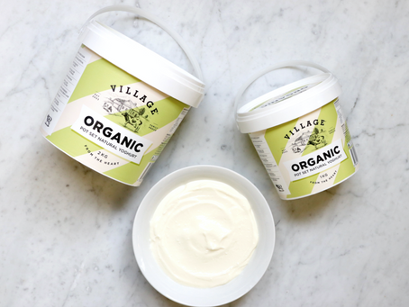 Village Dairy's New Organic Yoghurt