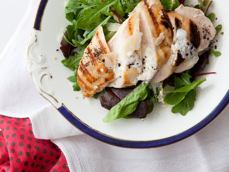 Parmesan Greek Yoghurt Chicken