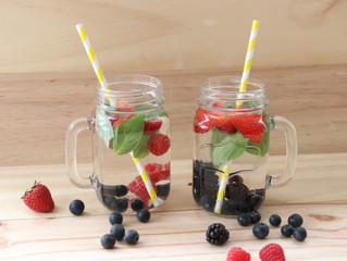 Berry Infused Water Recipes