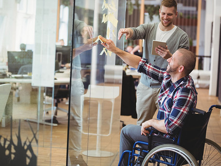 A big, largely untapped talent pool in the disabled workforce.