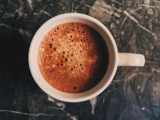 Chestnut hot chocolate