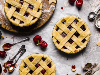 Cherry pie X Panaceas Pantry 🍒