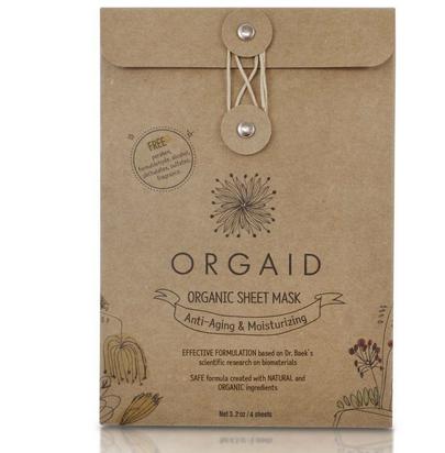 ORGAID Organic Sheet Mask | Anti-Aging & Moisturizing