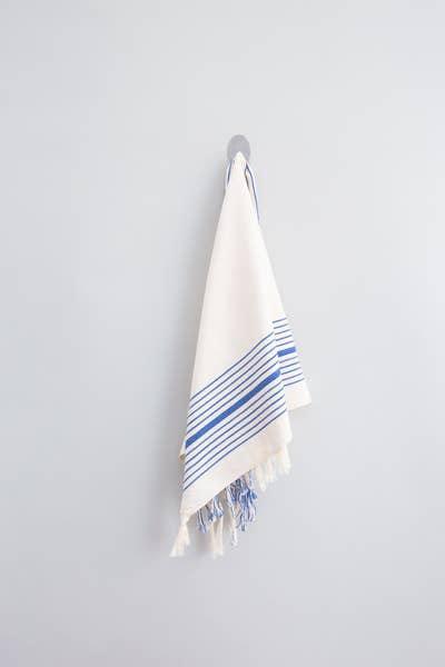 The Royal Blue Hudson Hand Towel