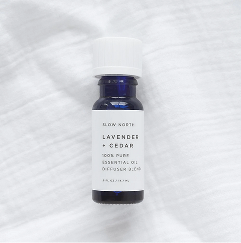 Lavender + Cedar Essential Oil Diffuser Blend