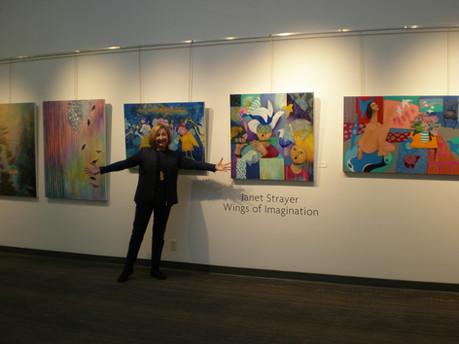 Wings of Imagination Exhibit,Zack Gallery, Vancouver, 2019-2020