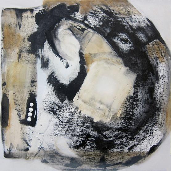 Vectors series: Elusive Control_20x20_ acrylic on canvas_Janet Strayer Art
