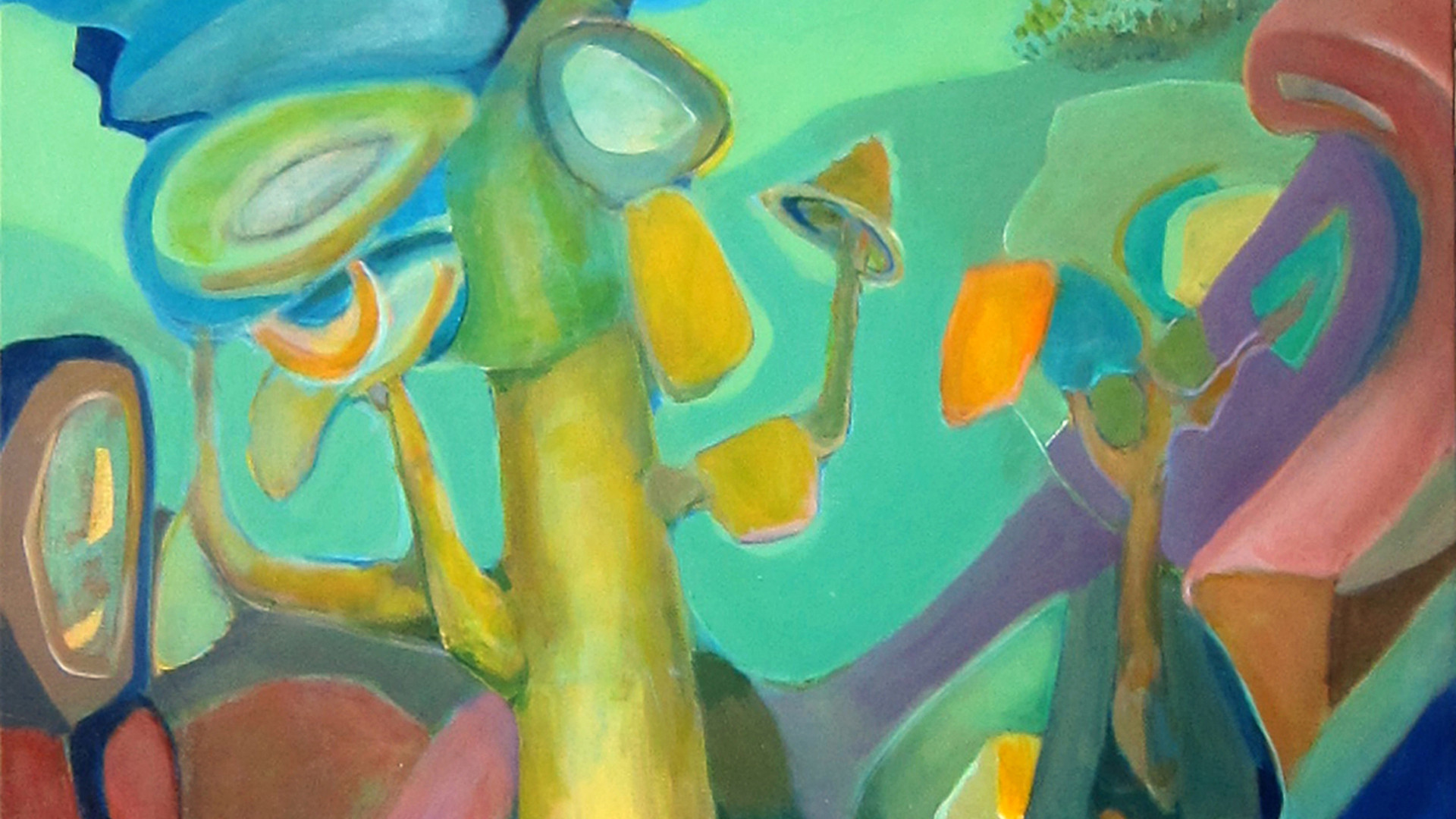 Infinity Tree_48x36_acrylic on canvas_Janet Strayer Art