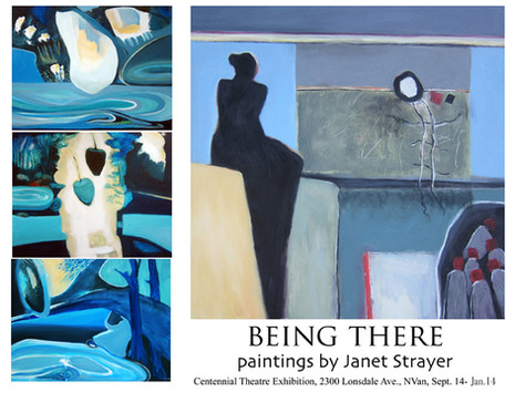Being There exhibit, Centennial Theatre, 2019-20