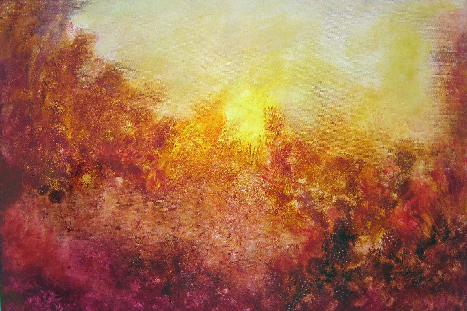 "Red Earth, 24x36"",acrylic on canvas. SOLD"