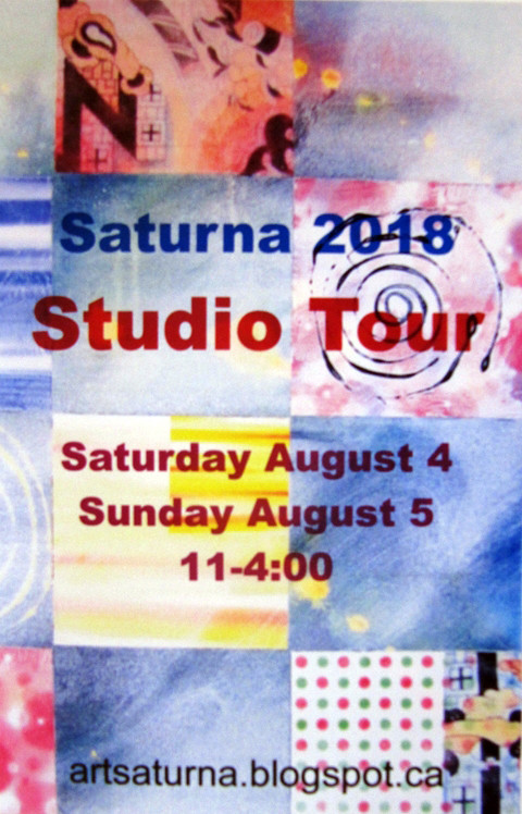 Saturna Studio Tour 2018