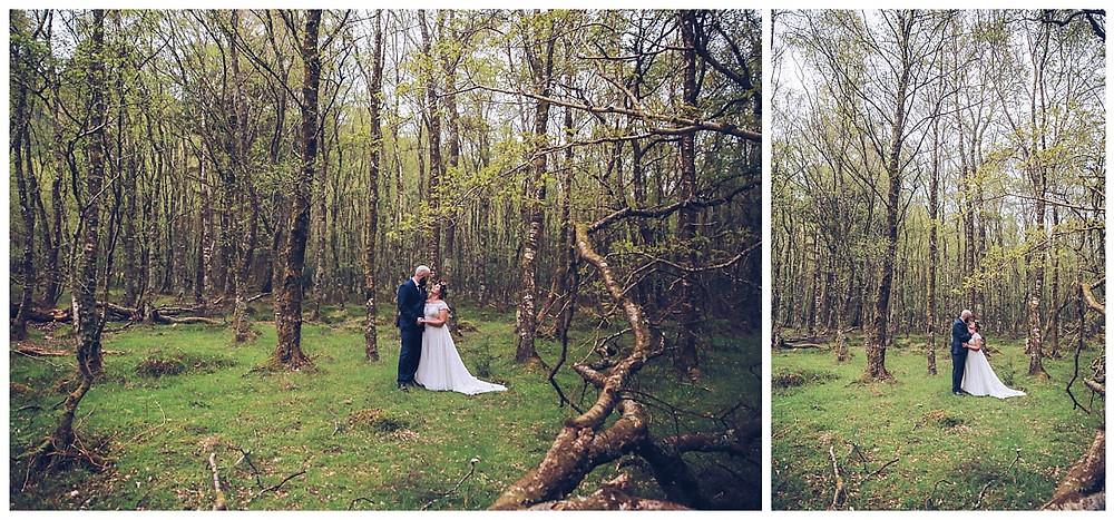 County Wicklow Forest Wedding