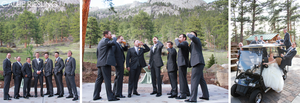 Della Terra Mountain Chateau Wedding Photography - Denver Wedding Photographer