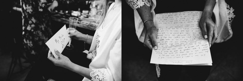 wedding letters to your bride