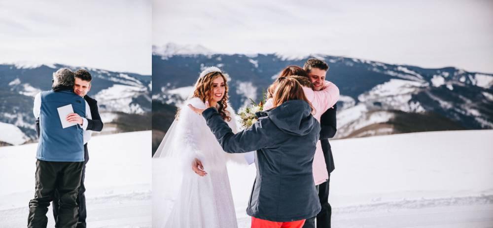 colorado intimate wedding