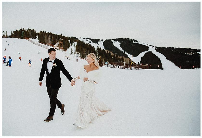 Four Seasons Vail Wedding - Vail Elopement Photographer