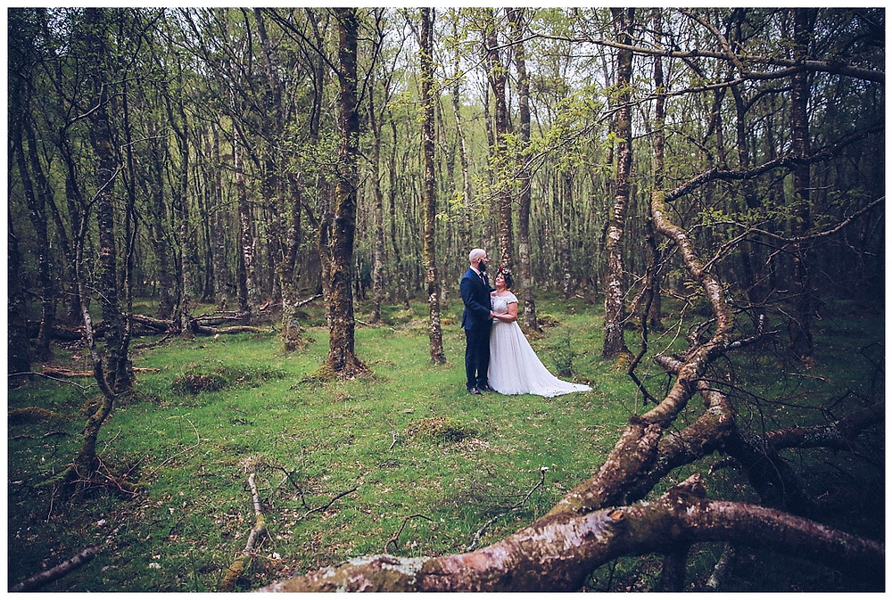 Irish Forest Wedding