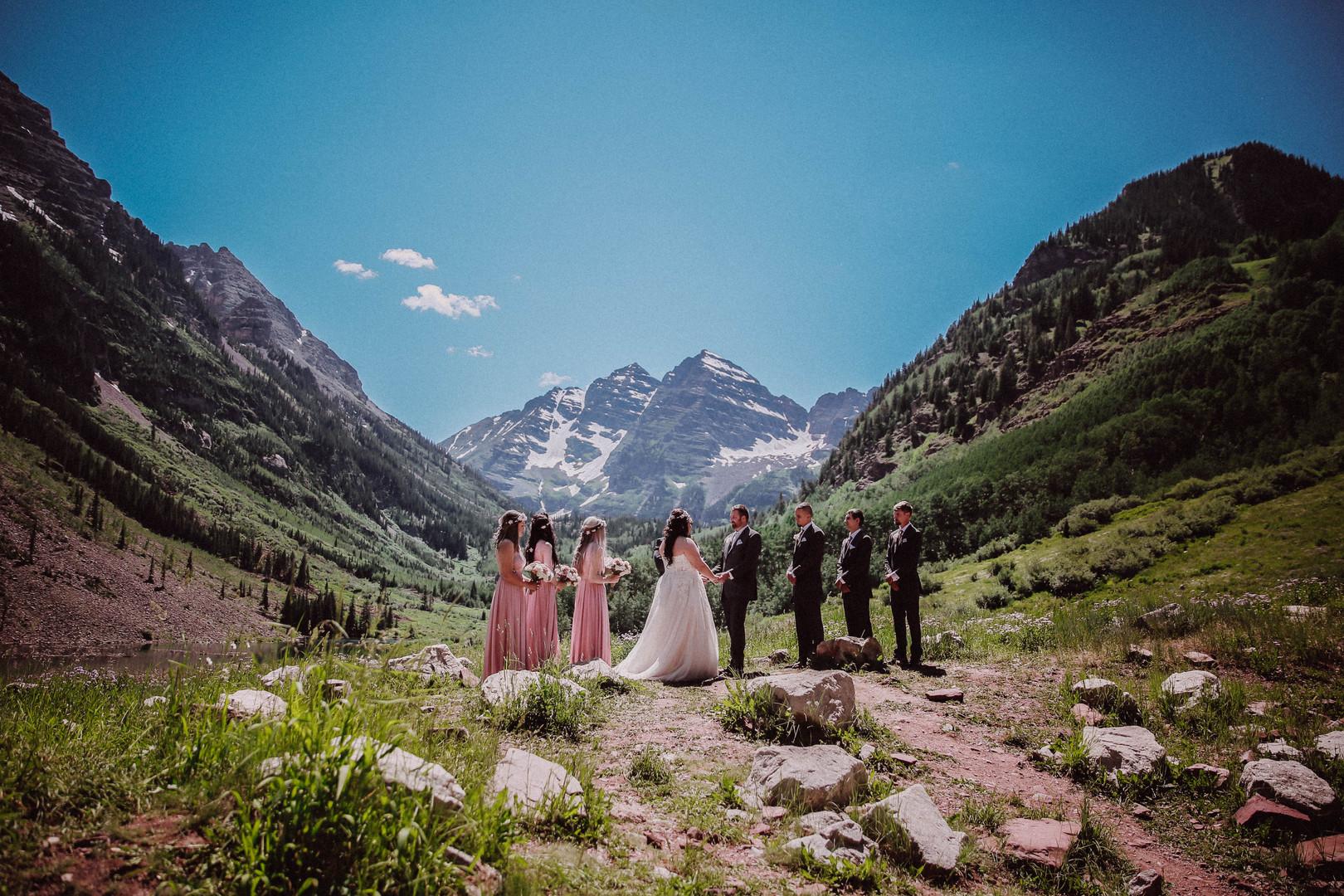 Maroon Bells Wedding Photographer
