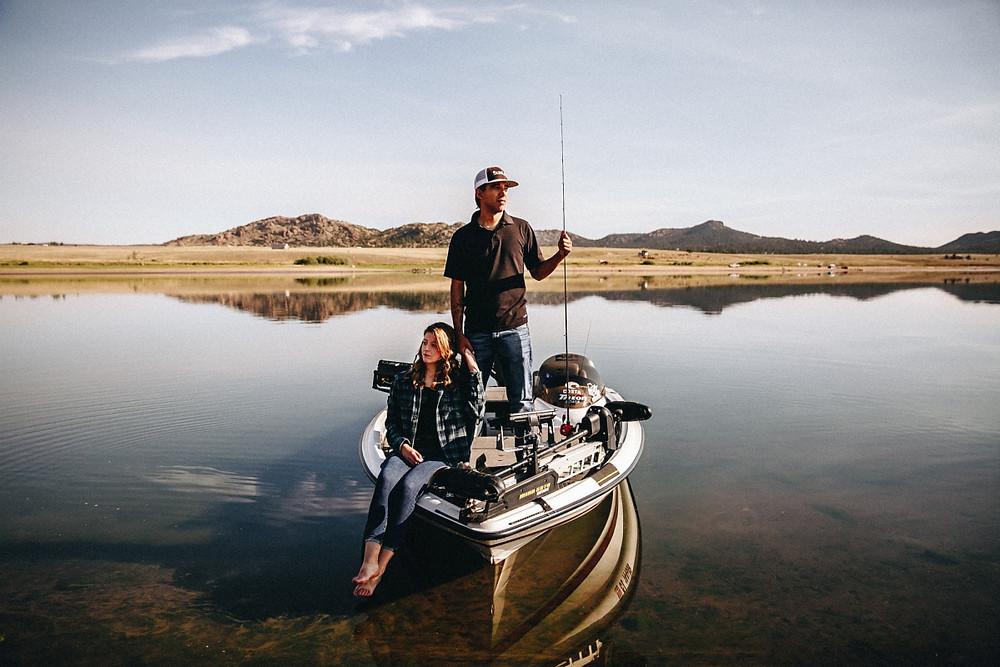Colorado Fishing Wedding
