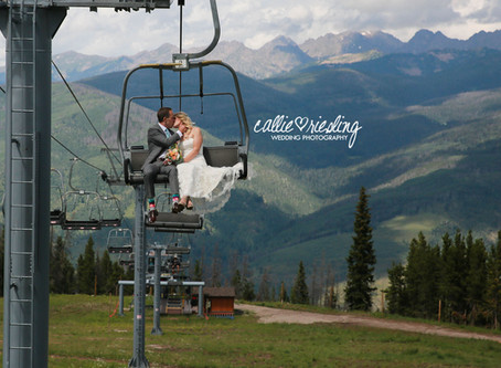 Colorado Mountain Wedding Photographer - Vail Wedding by Callie Riesling Photography
