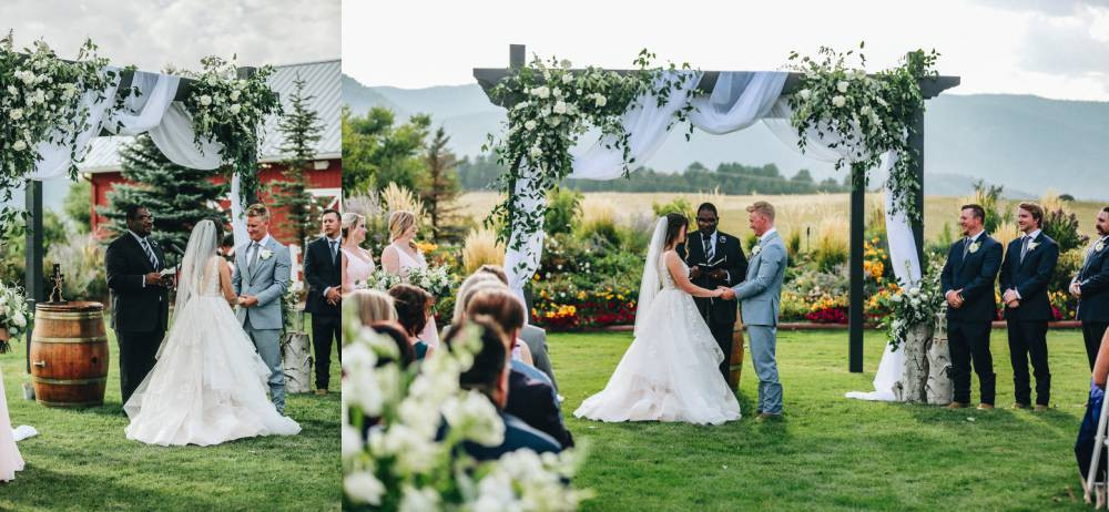 crooked willow farms lawn ceremony
