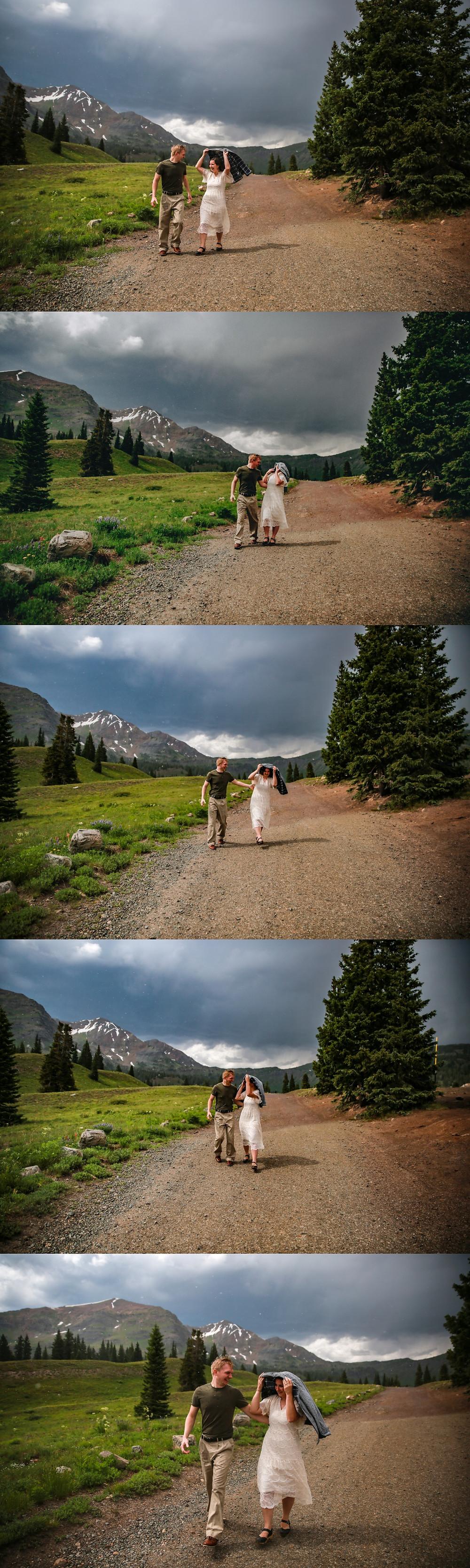 Colorado Rain Engagement Session