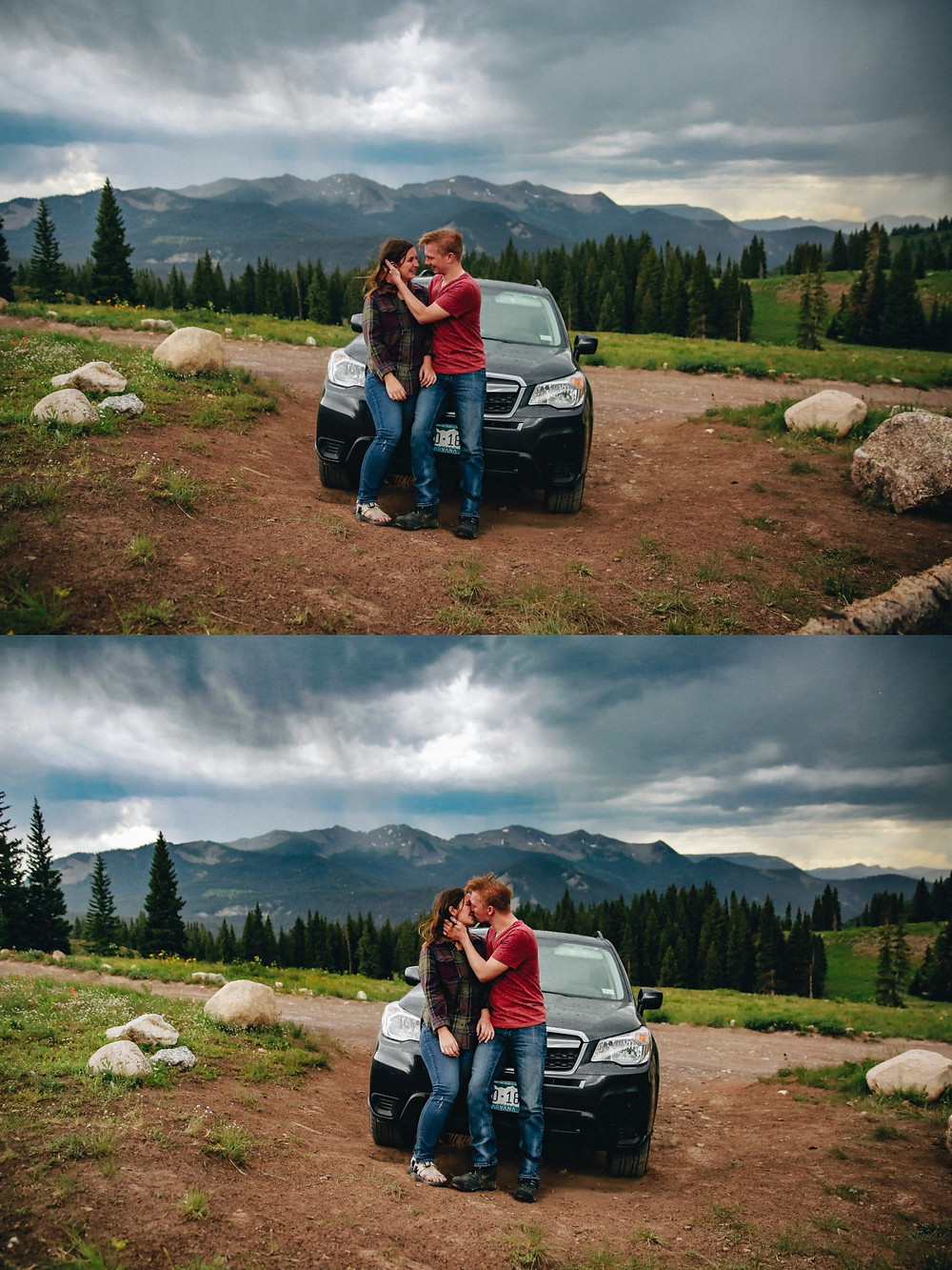Crested Butte Camping Engagement Session