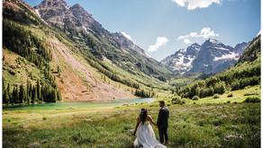 MAROON BELLS WEDDING PHOTOGRAPHER | Brandin + Brittany's Aspen Destination Elopement