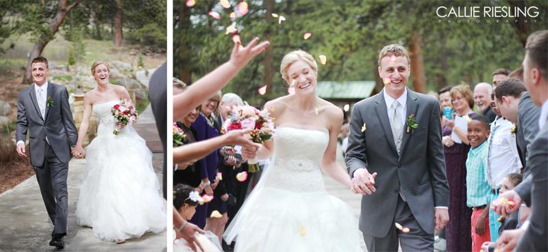 Della Terra Mountain Chateau Wedding Photography - Colorado Wedding Photographer