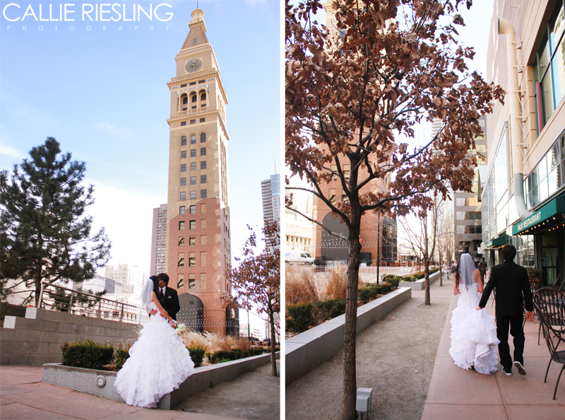 downtown denver wedding photographer - colorado wedding photographer