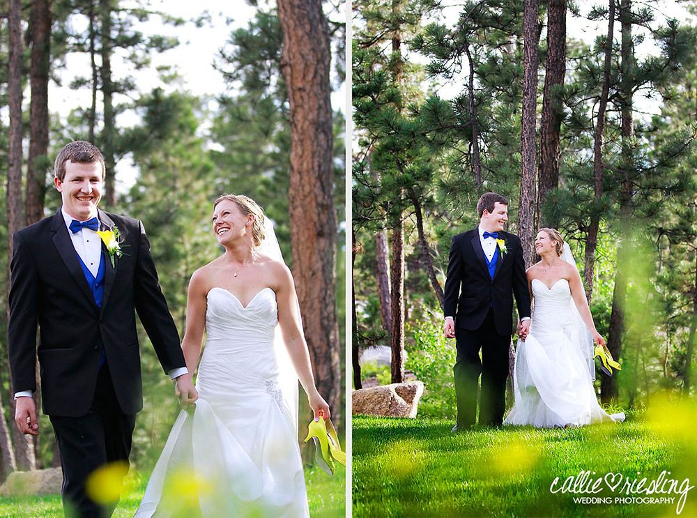 Colorado Springs Wedding Photographer - Wedgewood Black Forest Wedding