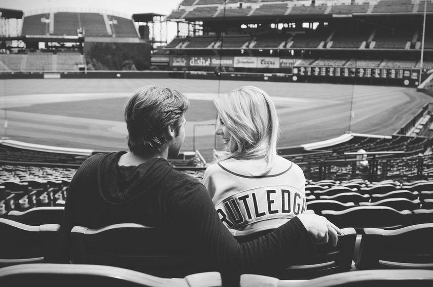 Josh Rutledge and Laura Rutledge