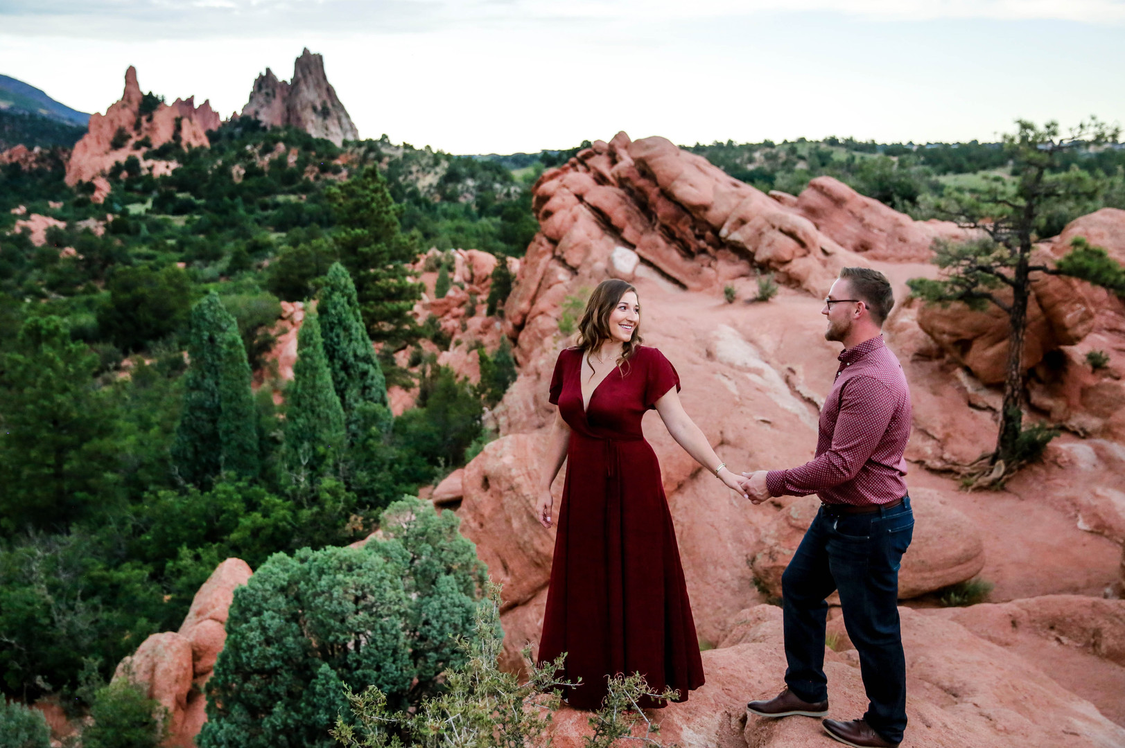 Garden of the Gods Engagement Session