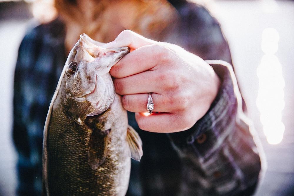 Colorado Fishing Engagement Session