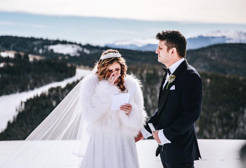 Vail Winter Elopement Photography
