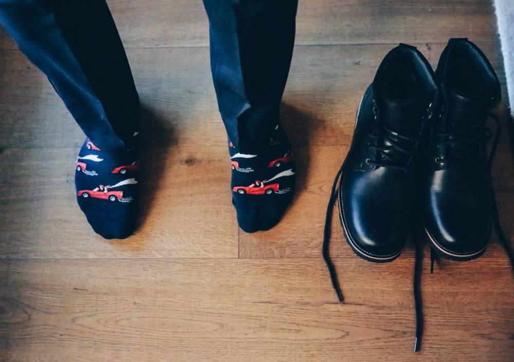 men's wedding socks