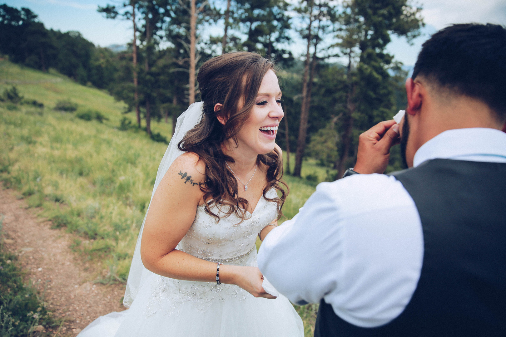 Edgewood Woodland Park Wedding Photographer
