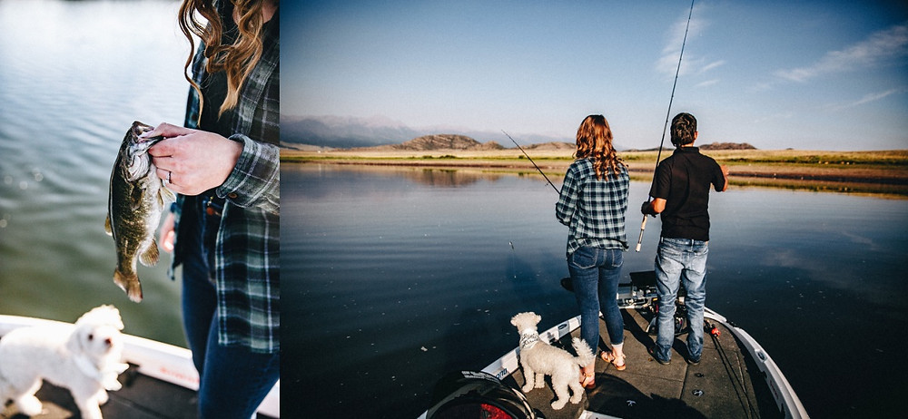 Fly Fishing Engagement Photographer