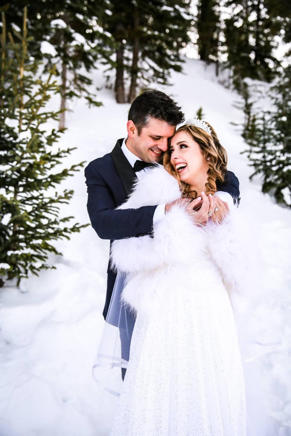 Colorado Winter Wedding Elopement