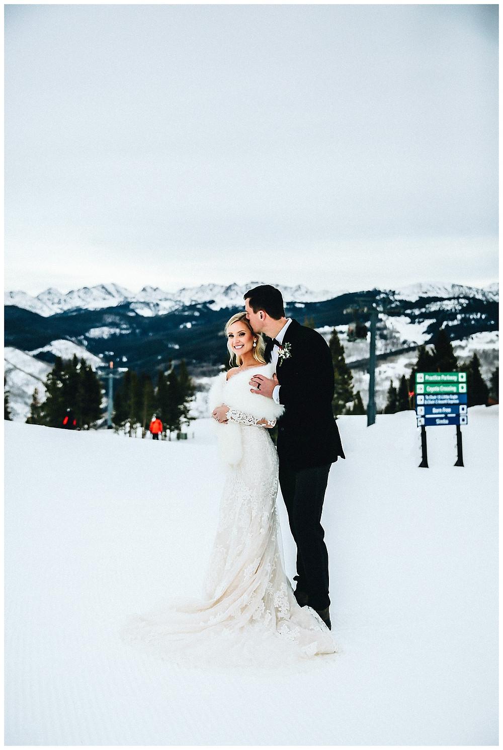 Vail Winter Wedding Photographer
