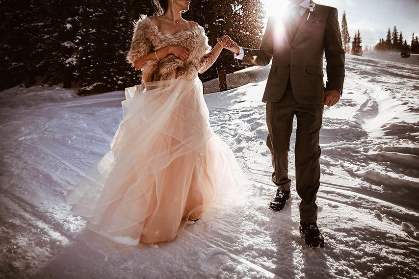 Copper Mountain Winter Wedding Photographer