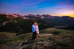 Loveland Pass Engagement Session