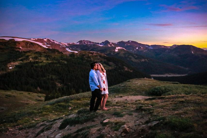 Loveland Pass Engagement Photographer