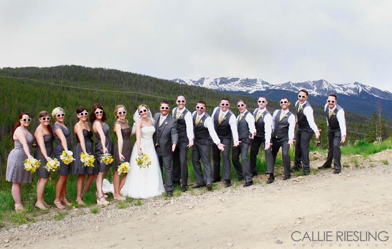 breckenridge wedding photographer - callie riesling photography