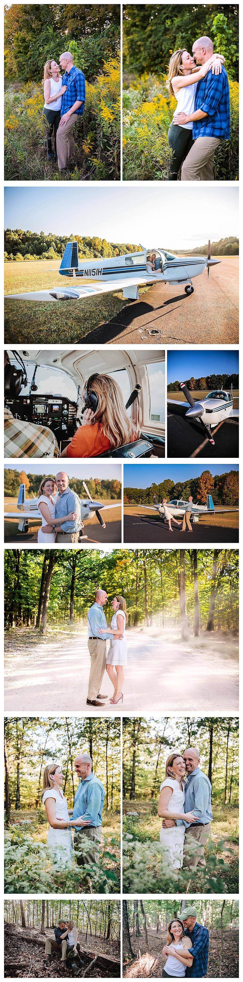 Colorado Aviation Engagement Photographer